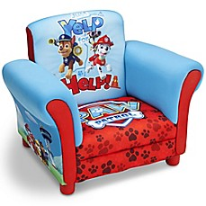 image of Delta Children Nick Jr.™ PAW Patrol Upholstered Chair in Blue