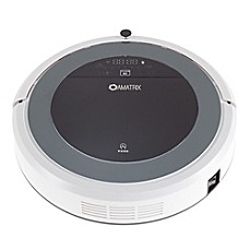 image of Amatrix V450 Robot Vacuum in Black/White