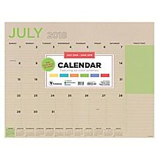 TF Publishing 2018 2019 Academic Desk Calendar