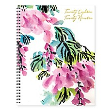 TF Publishing 2018 2019 Floral Academic Weekly Monthly Planner