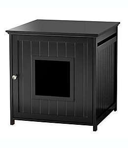 Mueble para arenero Pawslife™ en espresso