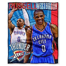 image of NBA Oklahoma City Thunder Russell Westbrook Silk Touch Throw Blanket