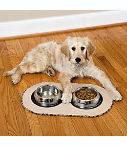 Tapete extra grande para tazón de mascotas The Original™, en café
