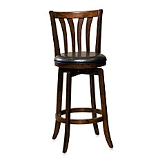 image of Hillsdale Savana 30-Inch Swivel Bar Stool in Cherry