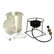 image of King Kooker® 29-Quart Portable Propane Outdoor Turkey Fryer