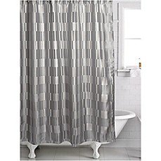 Periodic table of elements shower curtain bed bath beyond famous home birmingham shower curtain in silvergrey urtaz Images