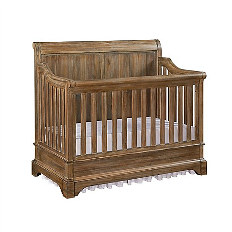 Bertini Pembrooke 5 In 1 Convertible Crib In Rustic