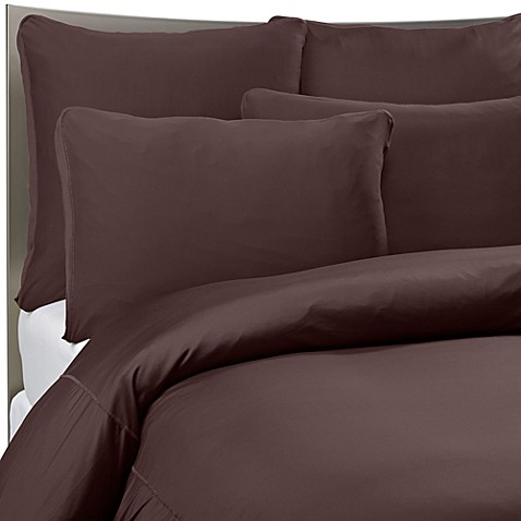 Sheex Reg Performance Bedding Duvet Cover Set In Espresso