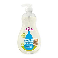 image of dapple® 16.9 oz. Pure 'N' Clean Baby Bottles and Dishes Dish Liquid Cleaner in Fragrance-Free