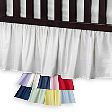 search and m ideas design nursery crib black bed pink skirt