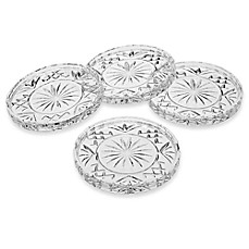 image of Godinger Dublin Crystal Coasters (Set of 4)