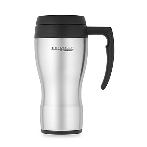 buy thermos thermocafe foam insulated 16 ounce travel mug from bed bath beyond. Black Bedroom Furniture Sets. Home Design Ideas