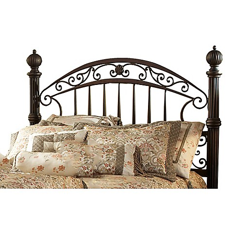 hillsdale chesapeake headboard with rails bed bath beyond