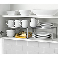 image of .ORG Metal Mesh Expandable Cabinet Shelves