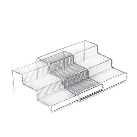 .ORG 3-Tier Expandable Metal Mesh Shelf