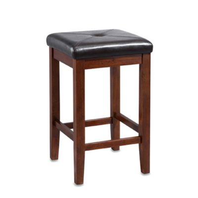 Crosley Upholstered Square Seat Bar Stools Set Of 2