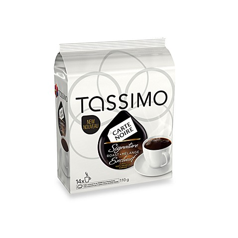carte noire roast coffee t discs for tassimo beverage system bed bath beyond. Black Bedroom Furniture Sets. Home Design Ideas