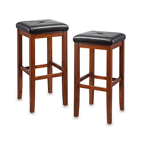 Buy Crosley Upholstered 29 Inch Square Seat Barstools In