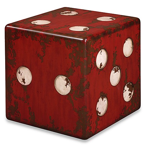 Uttermost Dice Accent Table