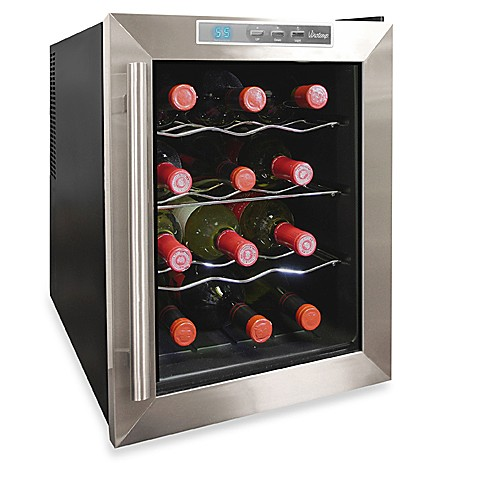 Vinotemp® 12-Bottle Thermoelectric Wine Cooler VT-12TEDS