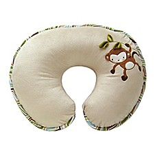 image of Boppy® Luxe Pillow with Reversible Cover in Monkey