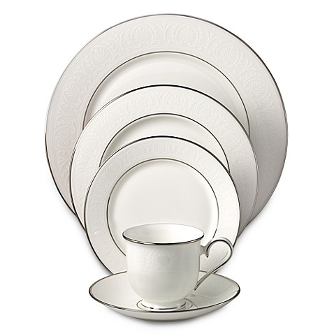 Lenox® Hannah Platinum® Dinnerware Collection - Bed Bath & Beyond