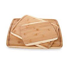 image of 3-Piece Bamboo Cutting Board Set