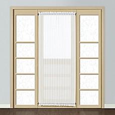 Monte Carlo Sheer Voile Rod Pocket Door Curtain Panel & Door Curtains | Bed Bath \u0026 Beyond