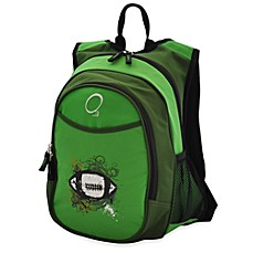 image of O3 Kids All-In-One Backpack with Cooler in Green Football