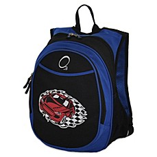 image of O3 Kids All-In-One Backpack with Cooler - Racecar