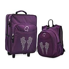 image of O3 Kids Backpack and Luggage Set in Wings
