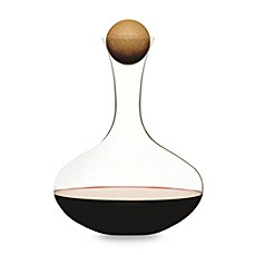 image of Sagaform® Hand-Blown Glass Wine Decanter with Stopper