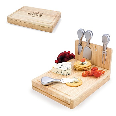 Picnic Time Asiago Folding Cheese Serving Set - Tampa Bay Buccaneers