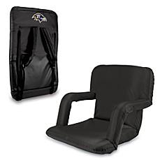 Picnic Time Portable Ventura Reclining Seat   Baltimore Ravens (Black)