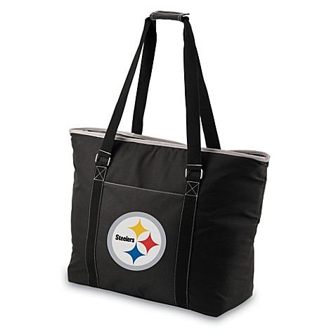 Picnic Time® Pittsburgh Steelers Tahoe Insulated Cooler Tote in Black