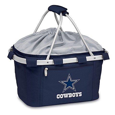 Picnic Time® Dallas Cowboys Metro Insulated Basket in Navy Blue