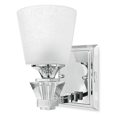 Quoizel®  Deluxe Bath Light Fixture in Polished Chrome