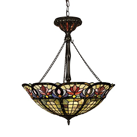 Buy Tiffany Glass Art Nouveau Pendant Light Fixture From Bed Bath Beyond