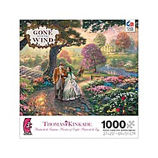 image of Ceaco Thomas Kinkade WB Movie Classics 1000-Piece Gone With the Wind Jigsaw Puzzle