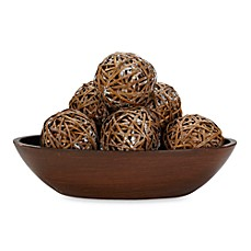image of Nearly Natural Decorative Balls (Set of 6)