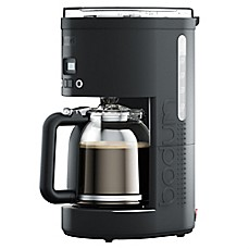 Bodum® Bistro 12 Cup Programmable Coffee Machine In Black
