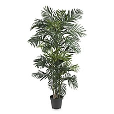 image of Nearly Natural Golden Cane Palm 6 1/2-Foot Silk Tree