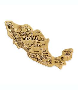 Tabla para picar y servir Destination Totally Bamboo® con diseño de México