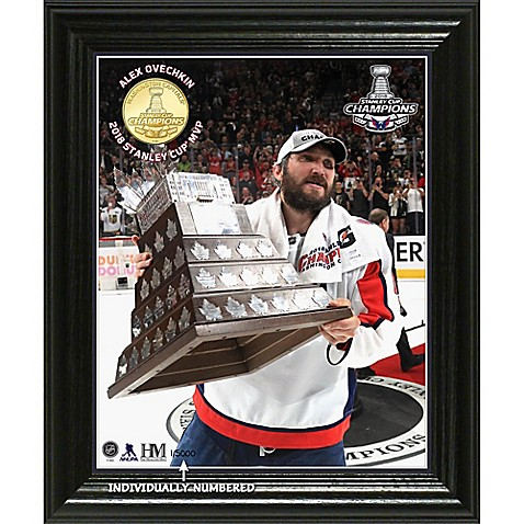 NHL Washington Capitals 2018 Stanley Cup Champions MVP Photo Mint