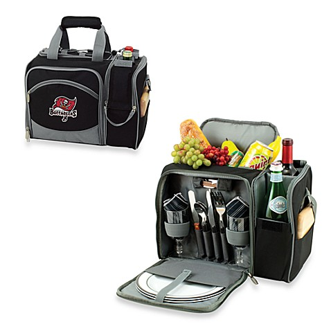 Picnic Time® Malibu Insulated Cooler/Picnic Basket in Tampa Bay Buccaneers