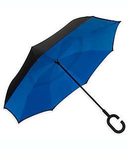 Paraguas invertido UnbelievaBrella™ ShedRain® en azul