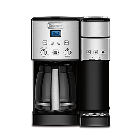 CuisinartR Coffee CenterTM 12 Cup Coffee Maker And Single Serve