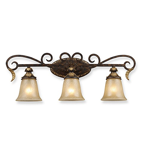 Elk Lighting 3 Light Vanity Bar Burnt Bronze Bed Bath Beyond