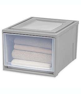 IRIS® Cajón mediano en gris/transparente