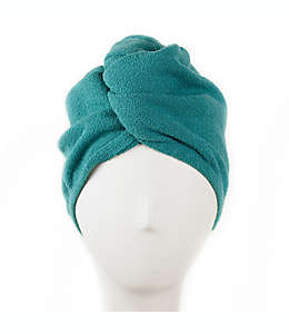 Turbante de poliéster para cabello AQUIS Original® color verde jungla